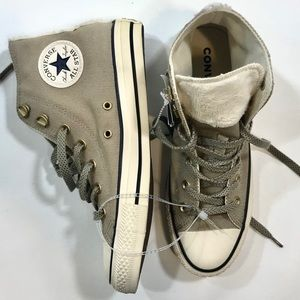 Converse All Star Chuck Taylor Taupe Canvas 8 NWT